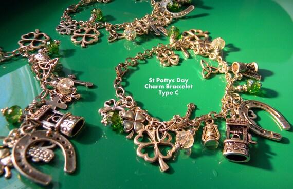 Irlandés Clip encanto-Shamrock-Irlanda Souvenirs Regalos del Reino Unido Oro Plata