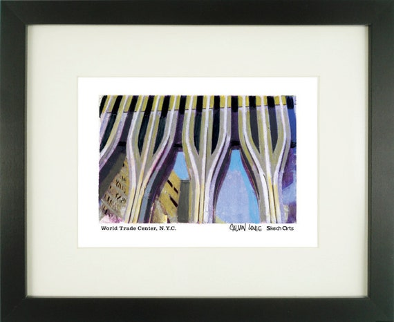 World Trade Center New York City With Frame of Choice