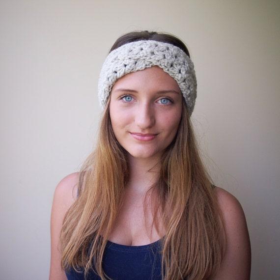 Crochet Pattern PDF turban headband lace woman headband  9f4226c775c