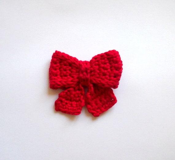 Crochet Pattern Bow Necktie Decoration Home Decor Diy Etsy