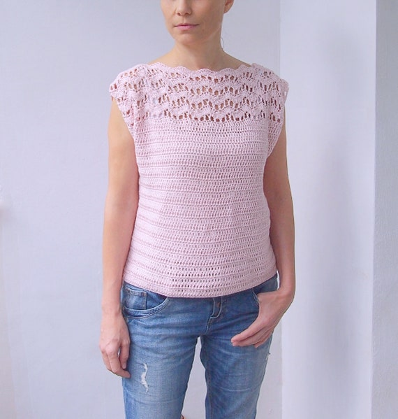 e40809bcd492c3 Crochet Pattern New Wave woman top women sweater pullover