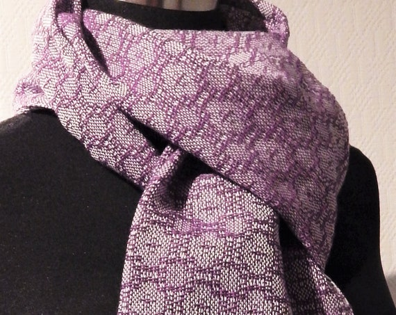 "Hand woven ""Lace""- Scarf"