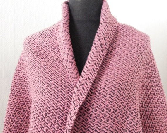 Handwoven Silky- shawl / scarf, shoulder warmer, wool / cotton / silk