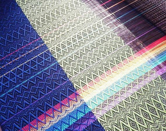 "Handwoven ""Little Rainbow""- Baby Wrap / Shawl"