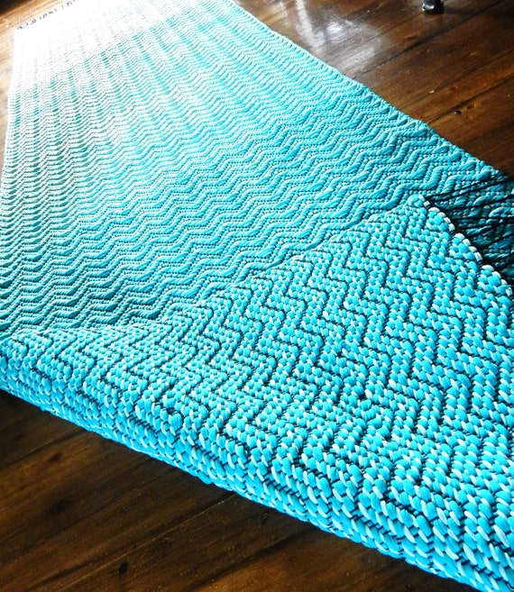 """Hand woven """"By the Sea""""- Rug"""
