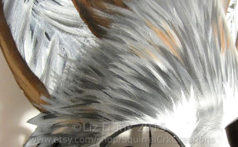 Timber Wolf Cosplay Leather Halloween larp Wolf Costume Fursona LARP Garb Wolf Mask Fantasy Animal Mask Role Play Furry