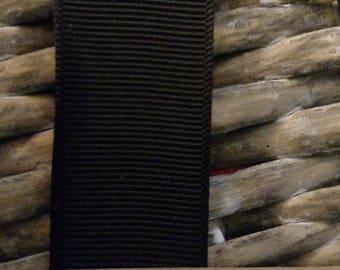 "Black 7/8"" Grosgrain ribbon"