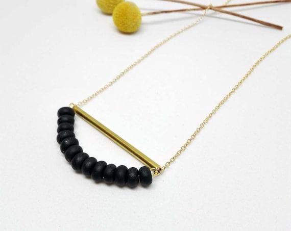 Collier CANDIES noir