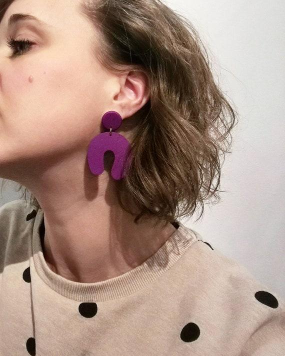 Boucles d'oreilles CURL
