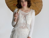 RESERVED for ANNA,Rose Mesh Lace Top Cropped Jacket, Romantic blouse, Lace top,Bohemian wedding top,Boho clothes