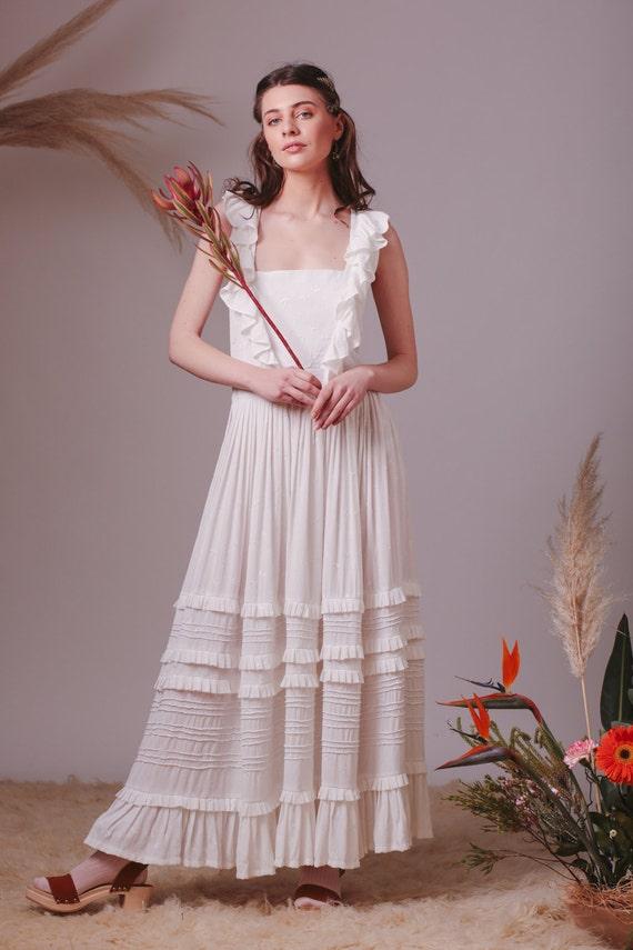Alternative Hochzeitskleid Bohmische Brautkleid Boho Etsy