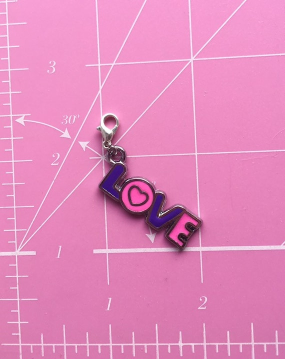 Filigree Bead Clip on Charm Stitch Marker Junk Journal Gift Planner Charm Pendant Bag Charm Unique Gift Ideas