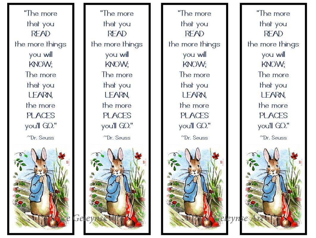 Favoritos de los niños para imprimir Peter Rabbit Arte | Etsy