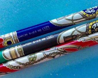 Kirin Pencil. Royal Crest Pencil. 1980s Japanese Pencils. Writing Supplies. Vintage Pencils