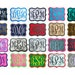 shelly Partin reviewed Customize Embroidered Vine Font Name Initial Monogram Iron On Applique Patch - Choose From 32 Fabric Colors & 5 Sizes