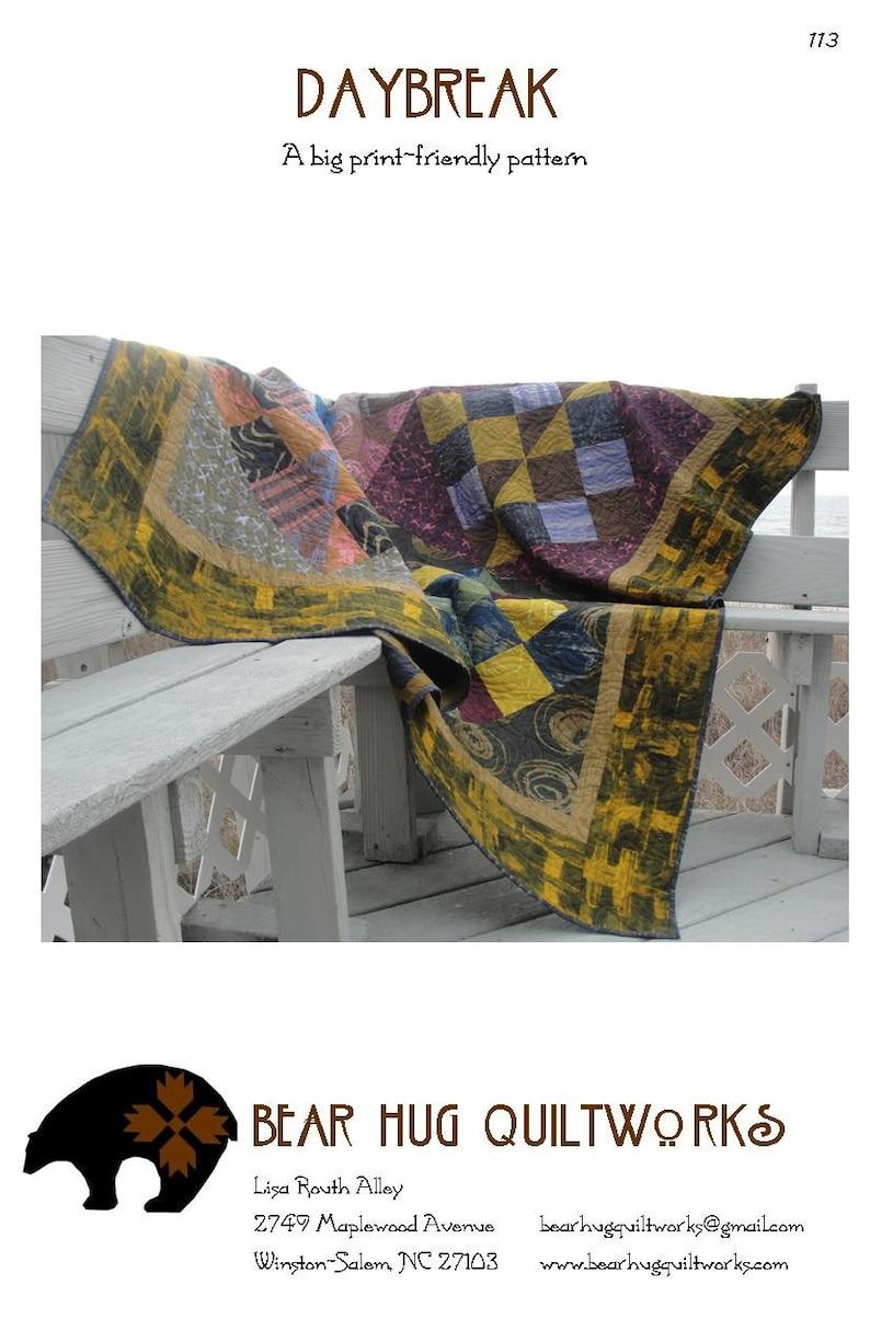 Daybreak Quilt Pattern image 0