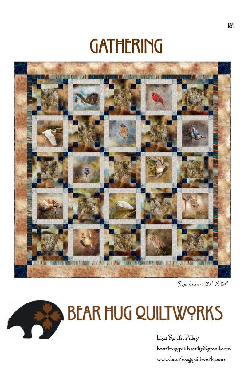 Gathering Quilt Pattern image 0