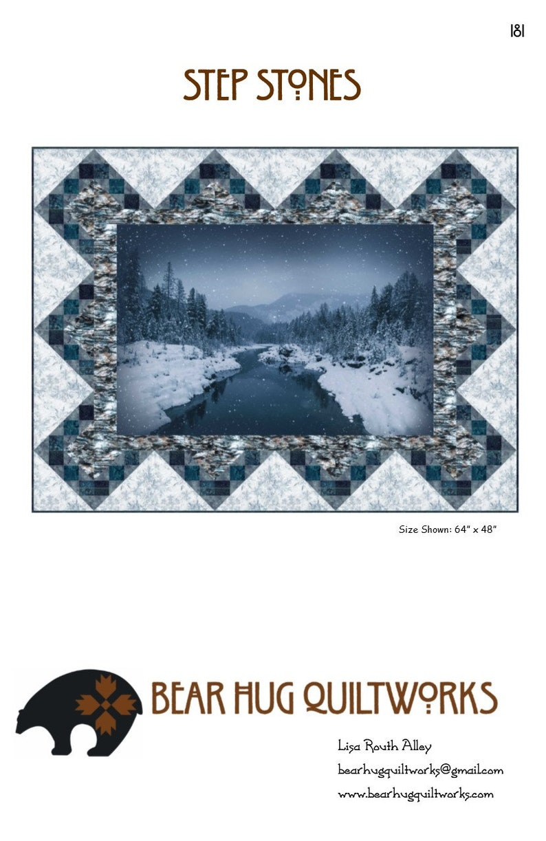 Step Stones Quilt Pattern image 0