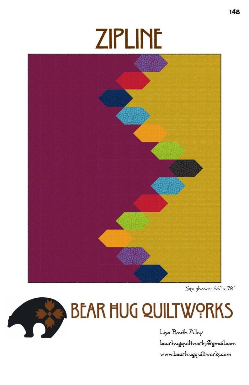 Zipline Quilt Pattern image 0