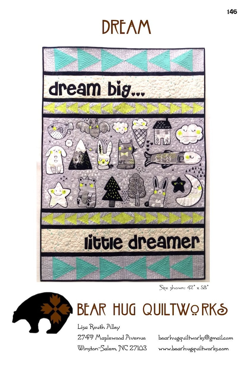 Dream Baby Quilt Pattern image 0