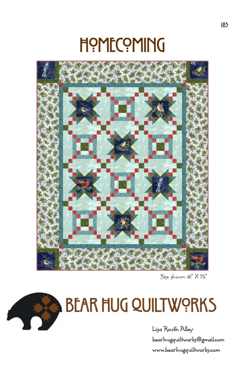 Homecoming Quilt Pattern image 0