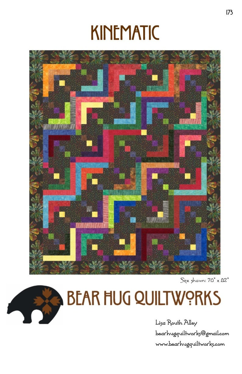 Kinematic Quilt Pattern image 1