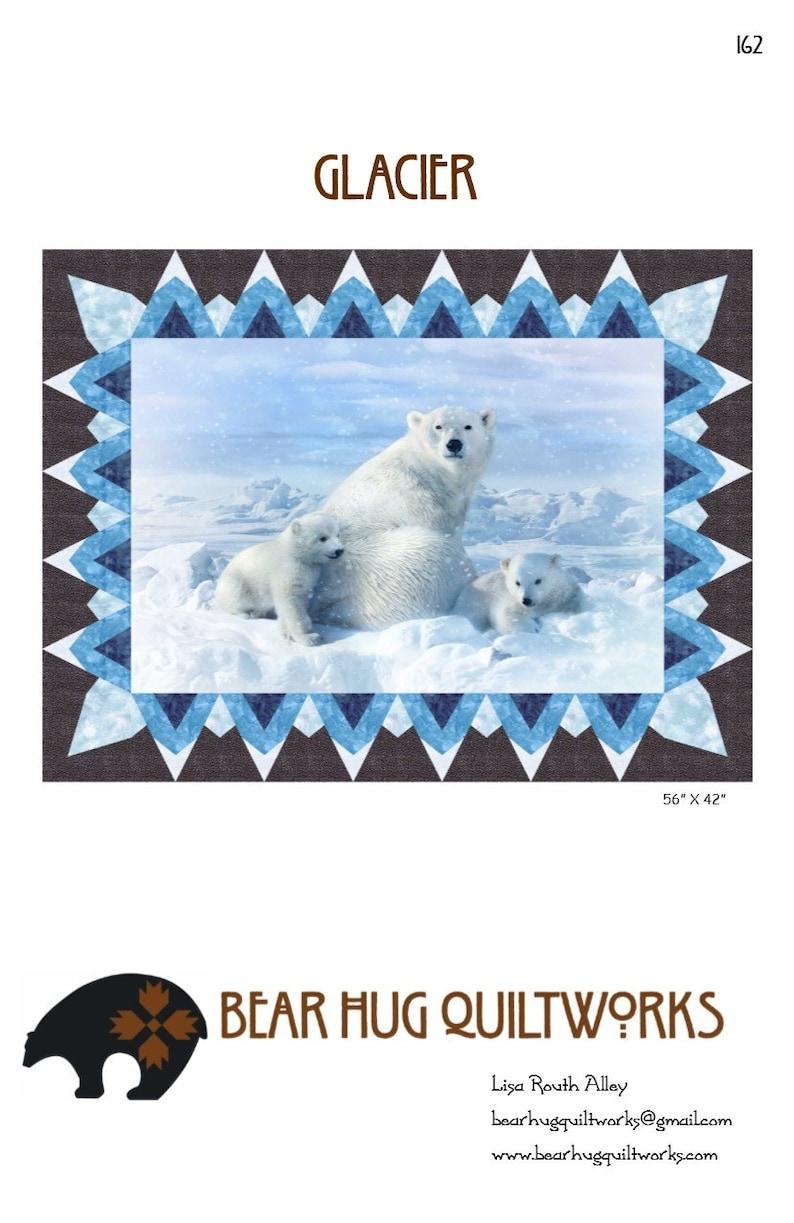 Glacier Quilt Pattern image 0