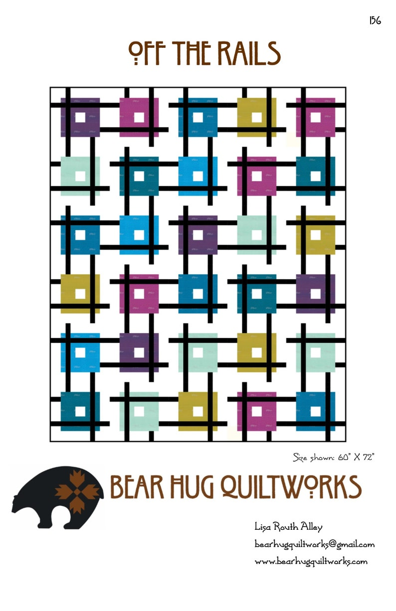 Off the Rails Quilt Pattern image 0