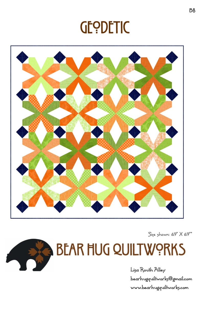 Geodetic Quilt Pattern image 0