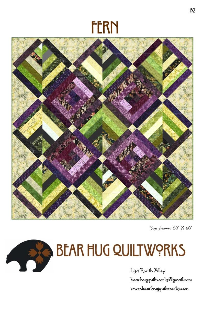 Fern Quilt Pattern image 0