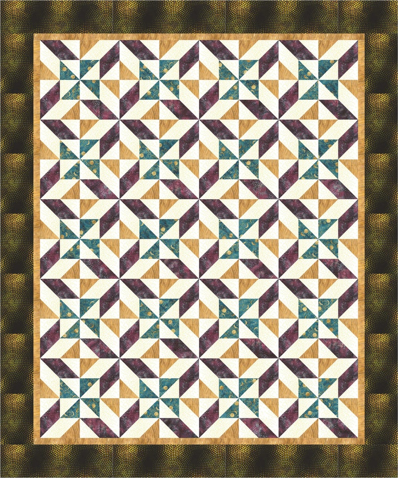 Dizzy Quilt Pattern image 0