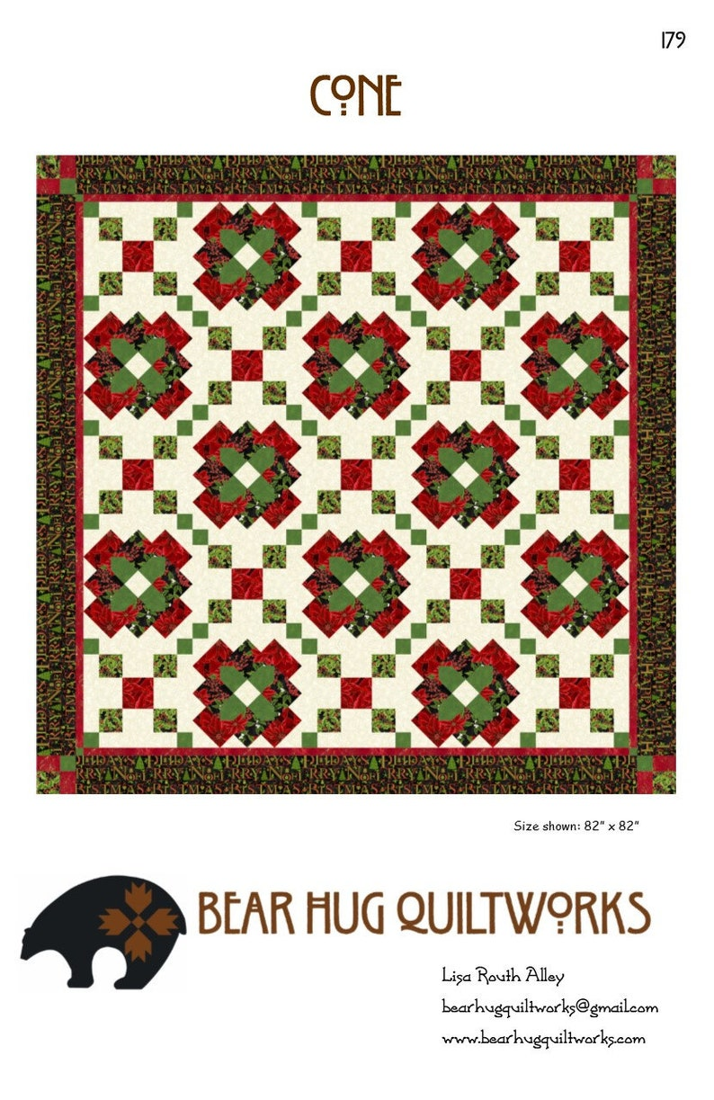 Cone Quilt Pattern image 0