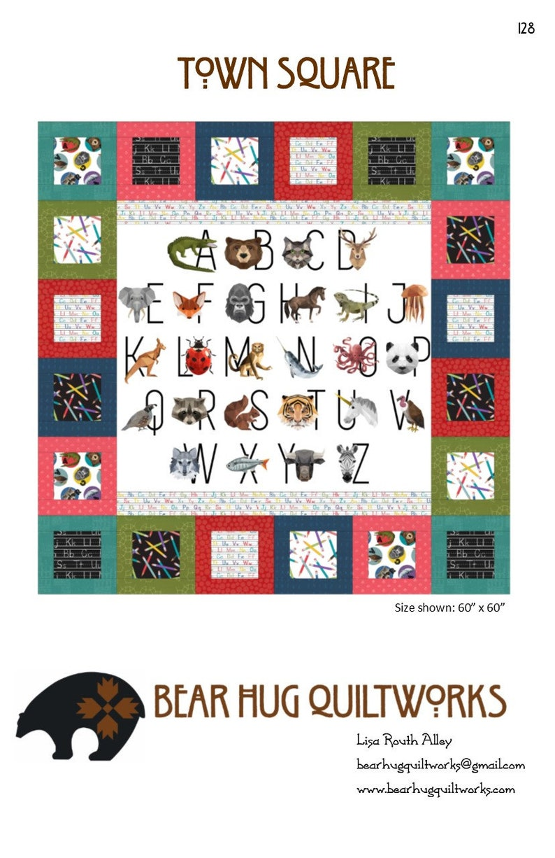 Town Square Quilt Pattern image 0