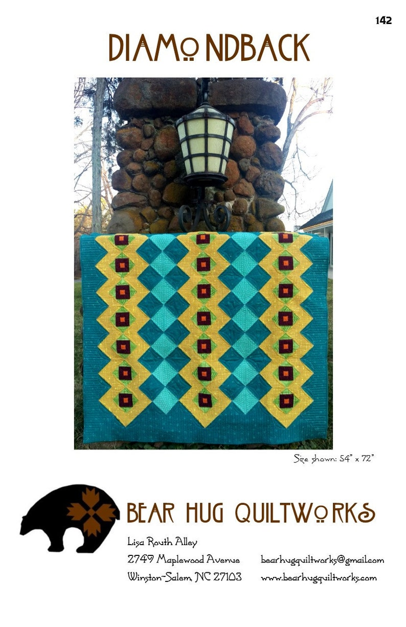 Diamondback Quilt Pattern image 0
