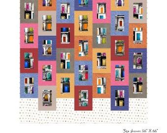 Sideways Quilt Pattern