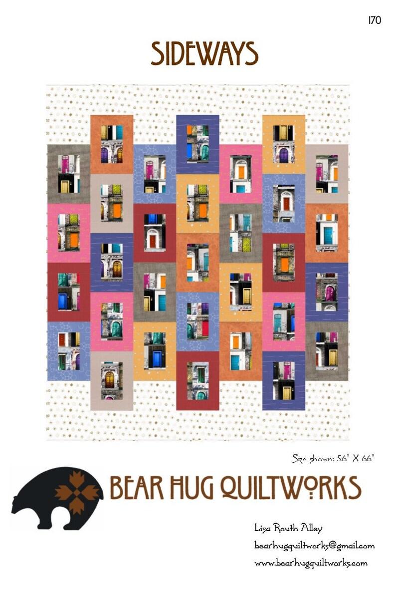 Sideways Quilt Pattern image 1
