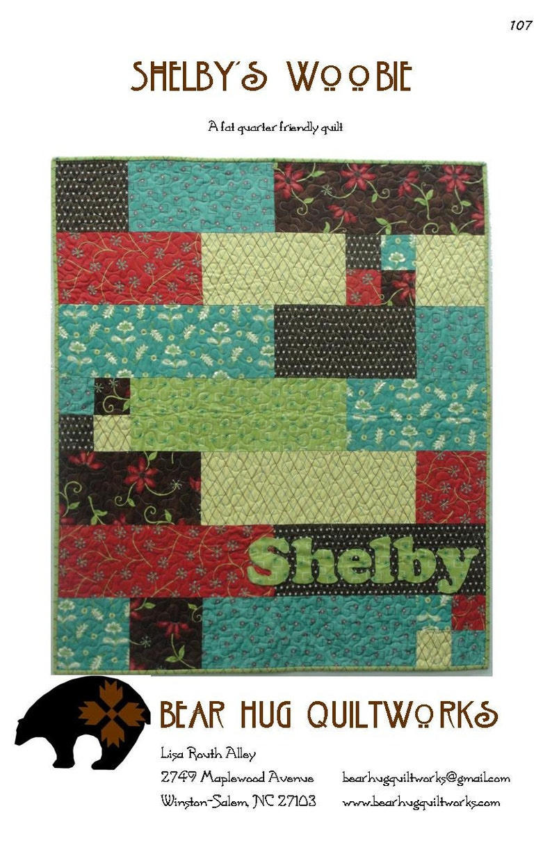 Shelby's Woobie Quilt Pattern image 0