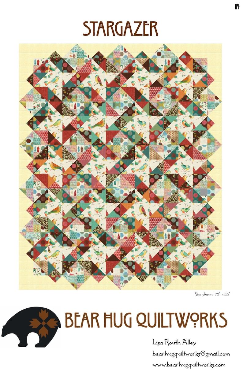 Stargazer Quilt Pattern image 0