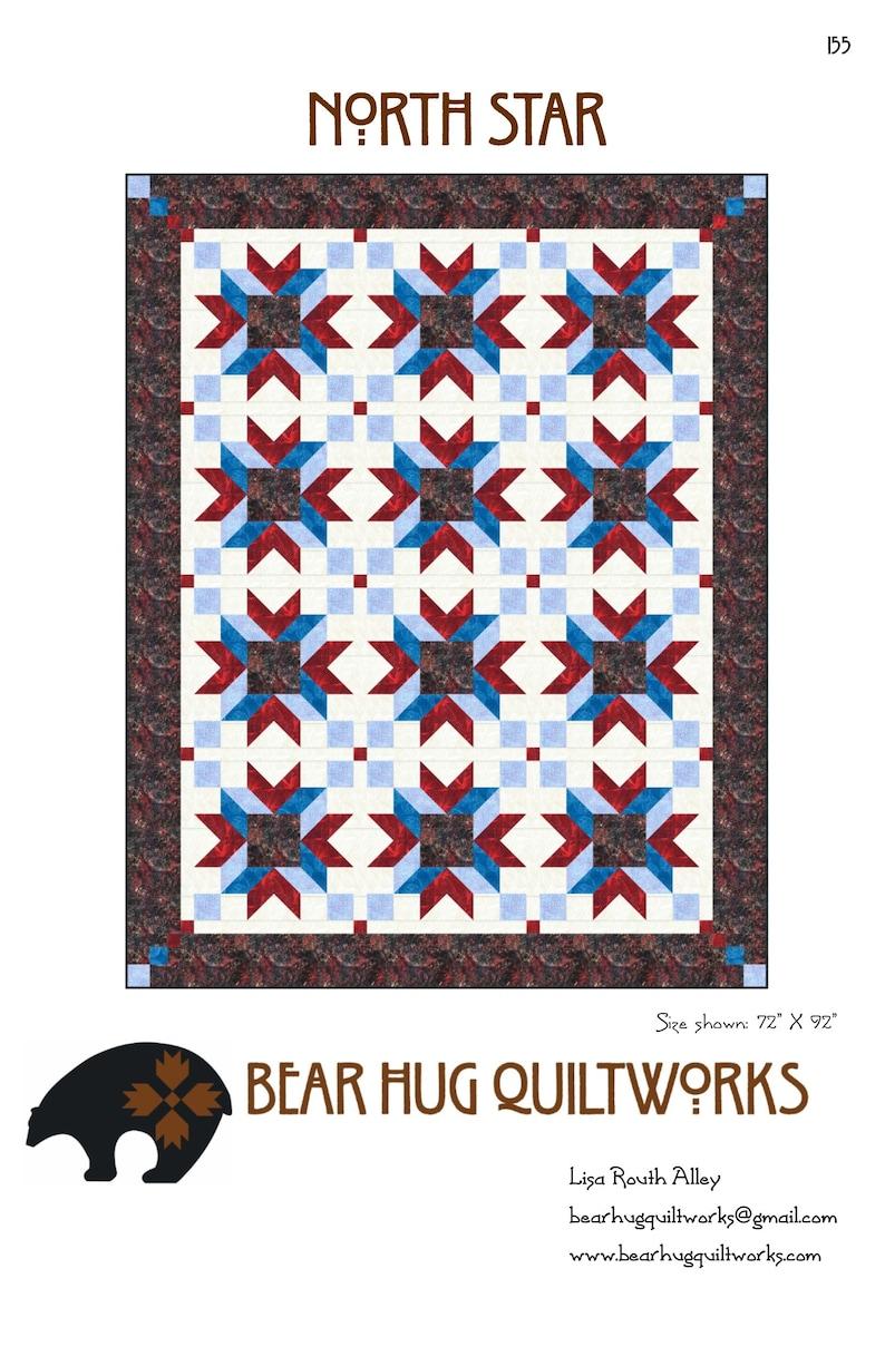 North Star Quilt Pattern image 0