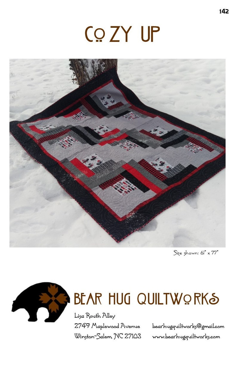 Cozy Up Quilt Pattern image 0