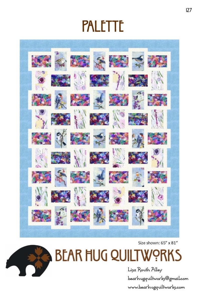 Pallette Quilt Pattern image 0