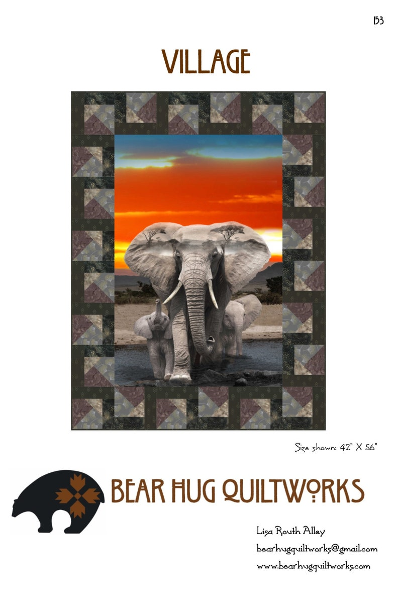 Village Quilt Pattern image 0