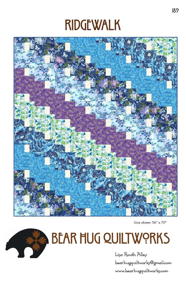 Ridgewalk Quilt Pattern image 0