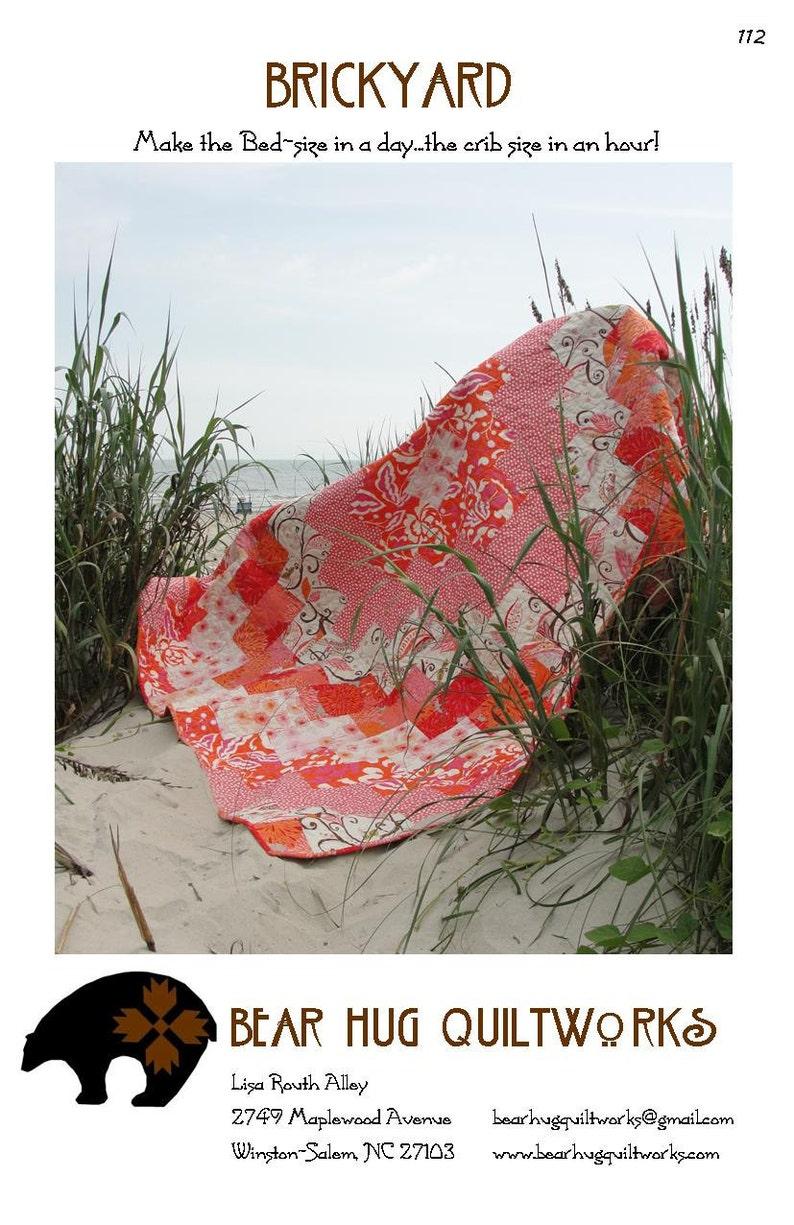 Brickyard Quilt Pattern image 0