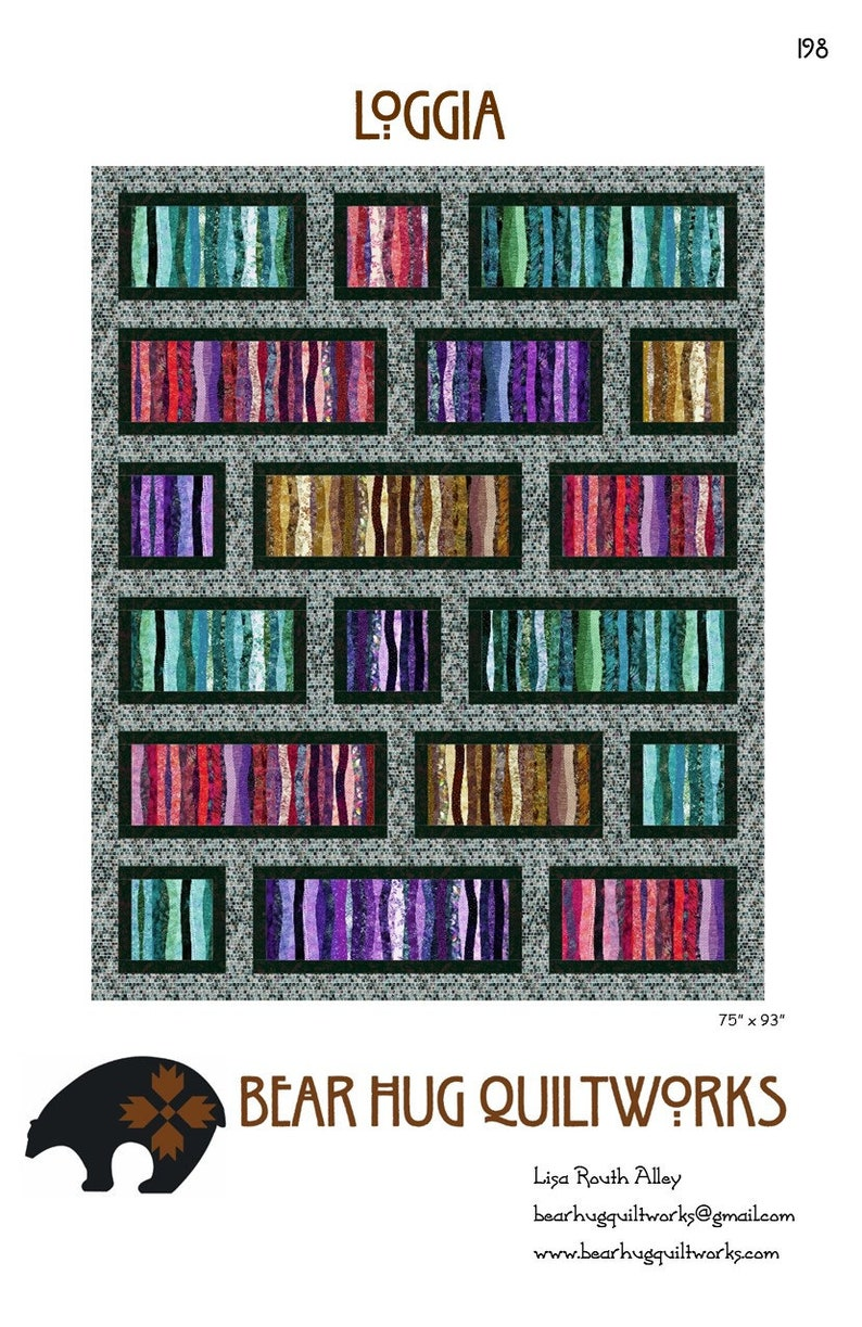 Loggia Quilt Pattern image 0