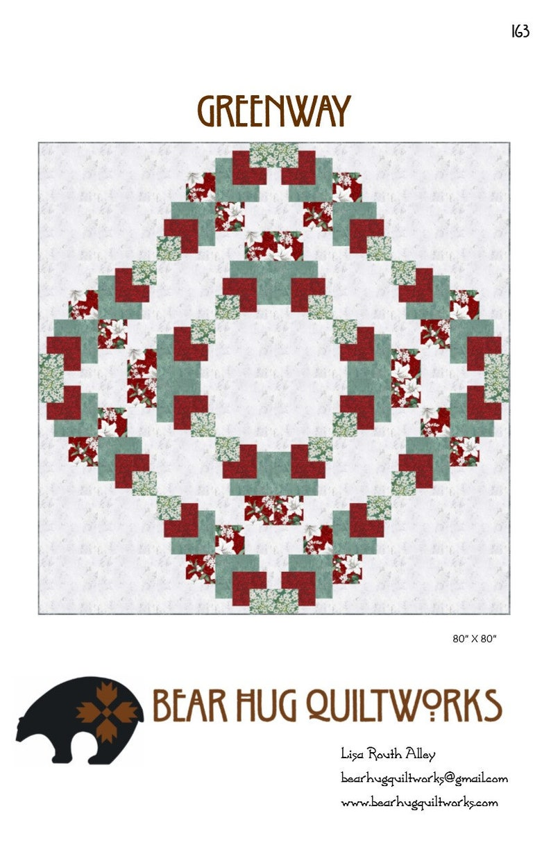 Greenway Quilt Pattern image 0
