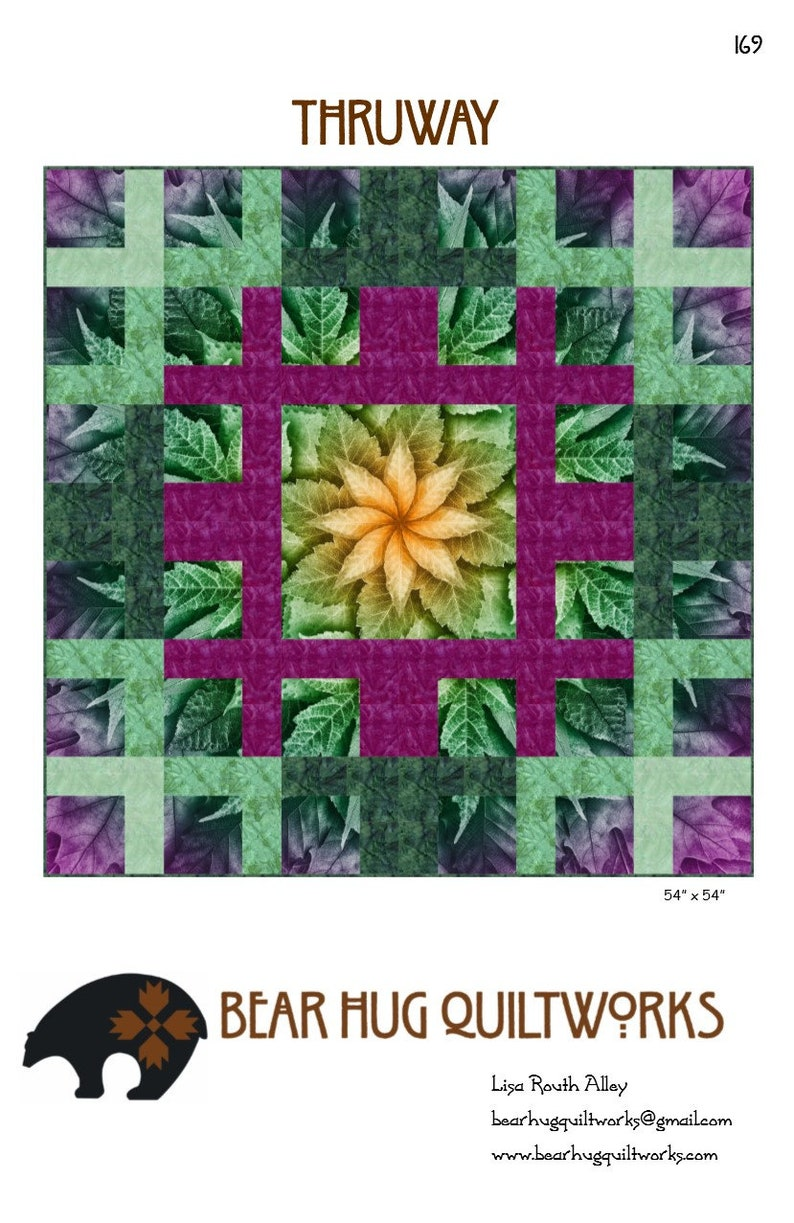 Thruway Quilt Pattern image 0