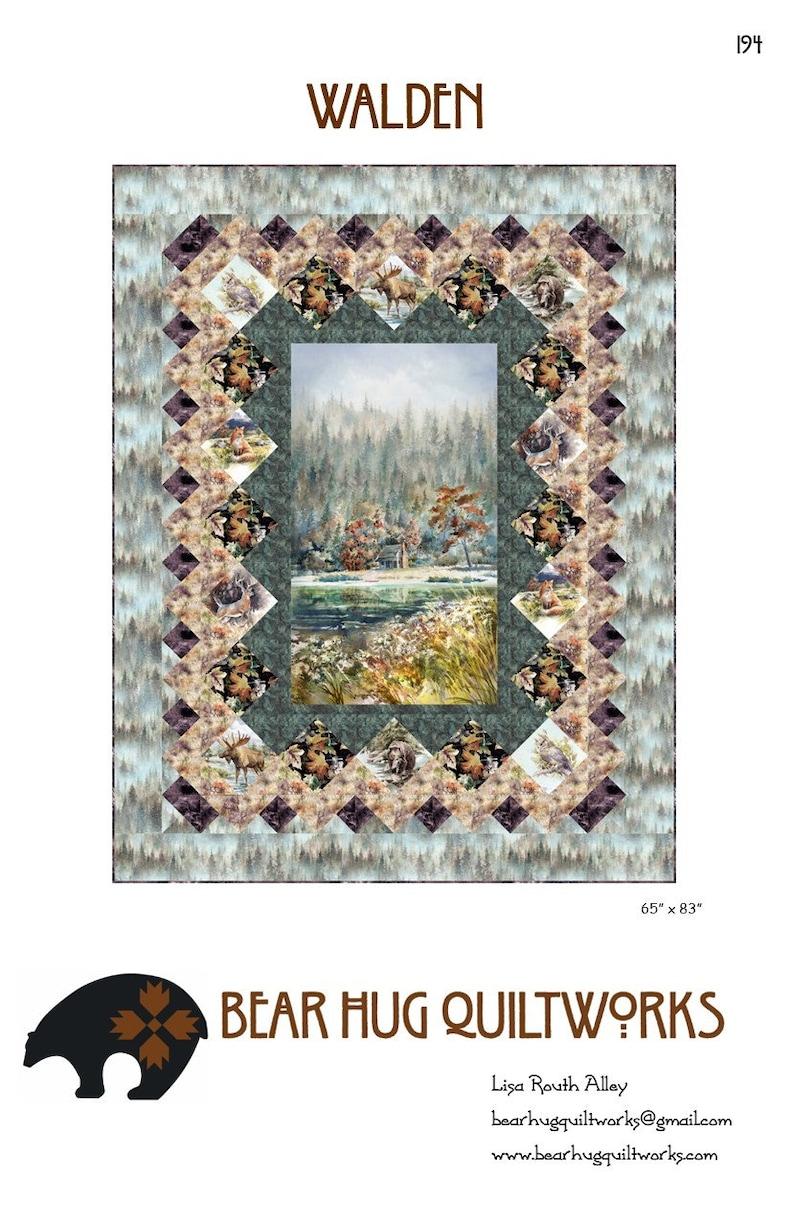 Walden Quilt Pattern image 0