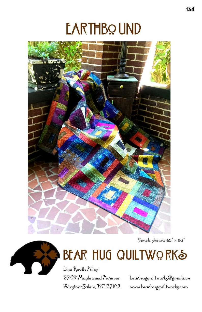 Earthbound Quilt Pattern image 0