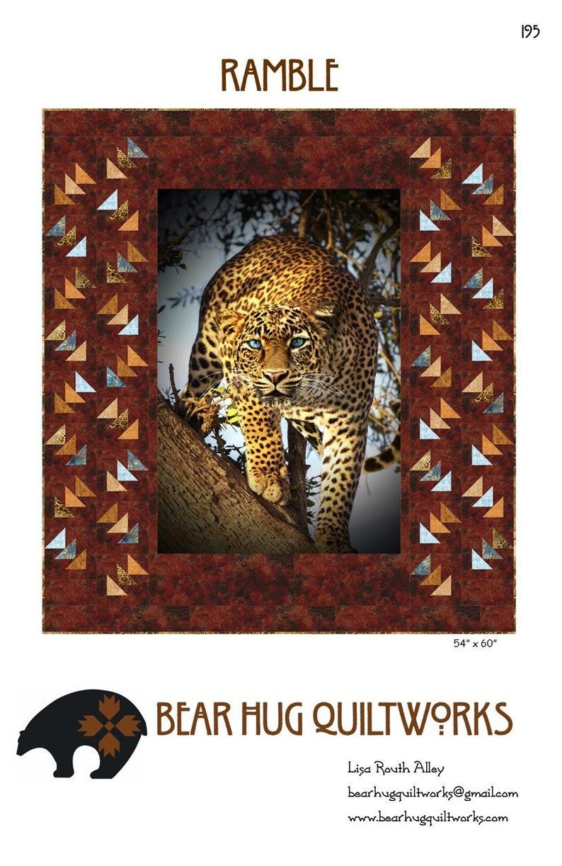 Ramble Quilt Pattern image 0